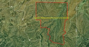 Appleton-Whittell Research Ranch of the NAS IBA GIS map_