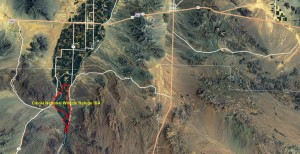 Cibola NWR IBA GIS Map - zoomed out