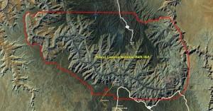 Grand Canyon National Park IBA GIS map