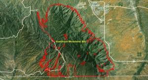Huachuca Mountains IBA GIS Map