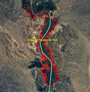 Imperial Reservoir IBA GIS Map
