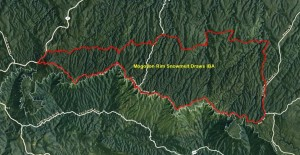 Mogollon Rim Snowmelts Draw IBA GIS Map