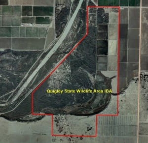 Quigley State Wildlife Area IBA GIS Map