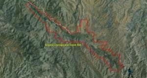 Arivaca Cienega and Creek IBA GIS map