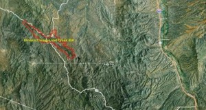 Arivaca Cienega and Creek IBA GIS map - zoomed out
