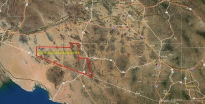 Sonoran Desert Borderlands IBA GIS Map - zoomed out