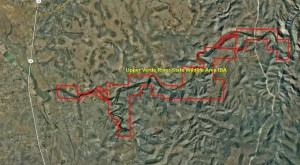 Upper Verde River State Wildlife Area IBA GIS Map