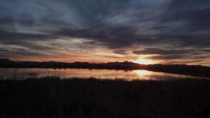 Sunset Over Cochise lakes