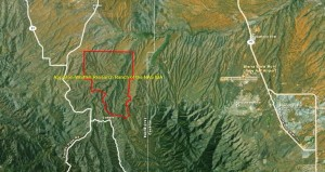 Appleton-Whittell Research Ranch of the NAS IBA GIS map - zoomed out