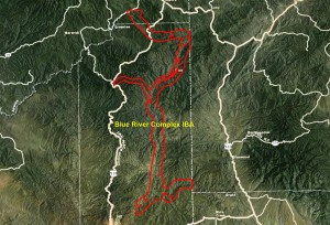 Blue River Complex IBA GIS map