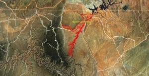 Marble Canyon IBA GIS Map - zoomed out