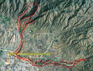 Tanque Verde WashSabino Canyon IBA