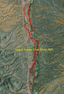 Upper Santa Cruz River IBA GIS Map