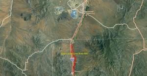 Upper Santa Cruz River IBA GIS Map - zoomed out