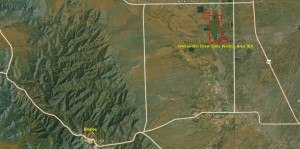 Whitewater Draw SWA IBA GIS Map - zoomed out
