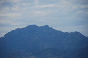"""Cochise's Face"" Chiricahua Mountains"