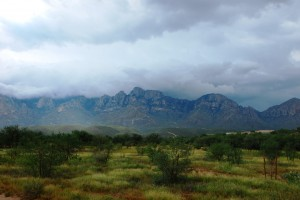 Catalina Mountains by Jennie MacFarland