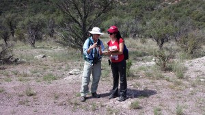 Deb Vath and Olya Phillips in Collins Canyon by J. MacFarland
