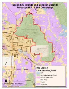 Tucson Sky Islands and Sonoran Uplands Land Ownership